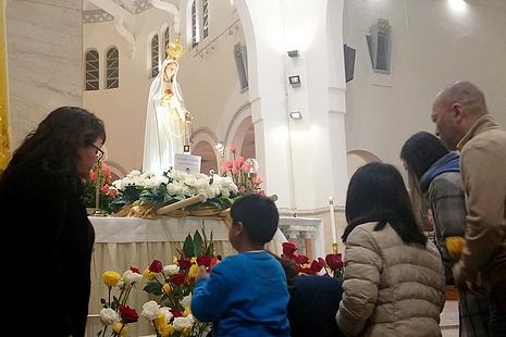 【News-香港】教宗祝聖法蒂瑪百周年聖母像,香港為世界朝聖遊首站